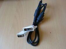 DVI-D  Single  Link 18+1 Monitorkabel doppelt geschirmt, 2 Ferritkern 1,8m