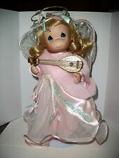 "Precious Moment's Doll ""Angel~Hope is a Gentle Melody""  Ashton Drake Porcelain"