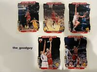 "1996 Upper Deck Chicago Bulls Michael Jordan Jumbo Card Set 7x5"" Last Dance"