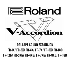 Roland FR-7X/ Roland FR-3X /FR-1X /FR-8X / Accordion Accordeon DALLAPE EXTENSION