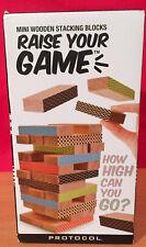 Mini Wooden Stacking Blocks Raise Your Game