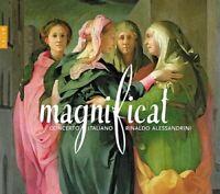Rinaldo Alessandrini / Concerto Italiano - Magnificat CD (7) Naive Classiqu NEW