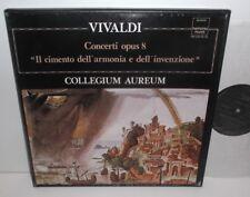 HM 20374/76 Vivaldi Concerti Opus 8 Collegium Aureum  3LP Box Set