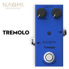 NAOMI Effect Pedal Tremolo Effects Pedal For Electric Guitar Ukulele Violin