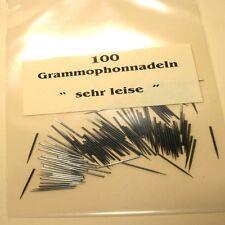 100 Grammophonnadeln 'Sehr Leise' Schellack Nadeln 78 RPM Gramophone Needles NEW