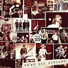 CHEAP TRICK - WE'RE ALL ALRIGHT  (180g deluxe LP Vinyl) sealed