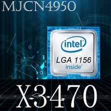 Intel Xeon X3470 2.93Ghz/8M/2.5Gt/s Quad Core Cpu SLBJH LGA 1156