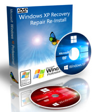 HP Compaq Windows XP Pro Recovery Boot Disk + Drivers + ISO Download 32 Bit SP3