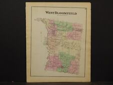 New York, Ontario County Map, 1874, West Bloomfield Township , Y3#86