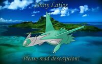 Shiny Latios 6IV - Pokemon X/Y OR/AS S/M US/UM Sword/Shield