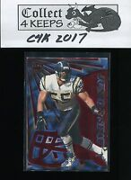 1997 Pacific Dynagon Prism Red #126 Junior Seau (HoF San Diego Chargers)