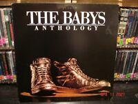 The Babys – The Babys Anthology    Vintage LP  *MISPRINT BLANK LABEL  crc press