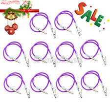 30Pcs Dental Bib Clips Chain with Silicone Cord Spring Heat Resisting 50cm Long