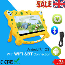 7'' Inch Kids Android 7.1 Tablet PC Dual Core Wifi Camera 8GB Dual Camera 3G UK