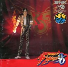USED  THE KING OF FIGHTERS 96 KOF   SNK NEO GEO CD NO  MVS AES POCKET JAPAN