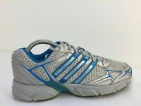 Adidas Adiprene Grey Textile Sports Running Gym Trainers Unisex Size UK 7 Eur 40