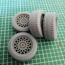 1:18 Vauxhall Carlton MK2 Wheel and tyre set of four