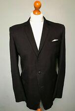 Vintage grey black 1960's suit size 38 long