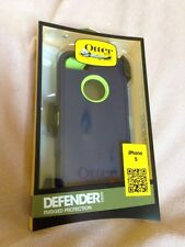 OtterBox 77-24276 Defender Series Rugged Protection iPhone 5 Case - Punk Blue