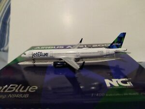 """*RARE*HYJL MOULD/NG MODELS 1:400 JETBLUE """"MI CASA, SU BLUE CASA"""" A321-231 N948JB"""