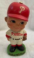 VINTAGE 1960s MLB PHILADELPHIA PHILLIES BASEBALL BOBBLEHEAD NODDER BOBBLE HEAD