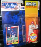 Starting Lineup Will Clark sports figure 1994 Kenner Texas Rangers SLU MLB