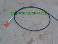 2000 2600 2610 3000 3600 4000 4600 5000 5610 6600 FORD TRACTOR SHUTOFF CABLE NEW