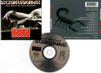 """SCORPIONS """"Hot & Slow"""" (CD) The Best Of The Ballads 1991"""