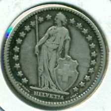1910 SWITZERLAND 1 FRANC, NICE VERY FINE, GREAT PRICE!