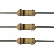 10 x 100k Ohm Carbon Film Resistors - 1/2 Watt - 5% - 100K - Fast USA Shipping