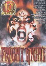 FRIGHT NIGHT: 10 Movies Kill Baby Kill The Ghost and More  NEW 5 DVD'S