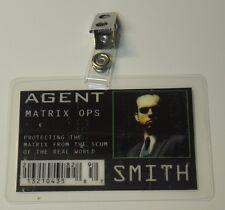 Matrix ID Badge-Agent Smith