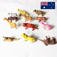 Wild Animal Model Figurine Plastic Kids Children Toy Home Garden Decor Sciencs