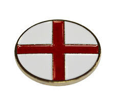 ENGLAND GOLF BALL MARKER. NATIONAL FLAG. BY ASBRI