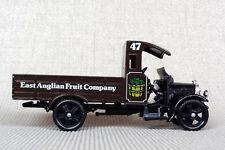 CORGI DIE CAST THORNYCROFT TRUCK 29 EAST ANGLIAN FRUIT COMPANY MARRONE ART C820