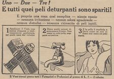 V0564 Crema depilatoria VEET - Pubblicità d'epoca - 1931 vintage advertising