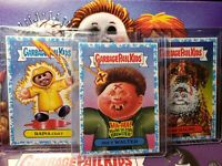 Garbage Pail Kids Blue 1/99 Lot of Three Number 1 Cards Revenge Horror-ible