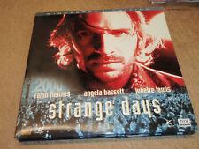 STRANGE DAYS - Ralph Fiennes Angela Bassett - LaserDisc - mmoetwil@hotmail.com