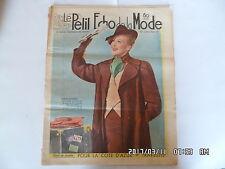 LE PETIT ECHO DE LA MODE N°4 22/01/1939 MODE POUR LA COTE D'AZUR      K39