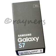 "(New; Box Opened) Samsung Galaxy S7 Black 32GB Sim Free 4GBRAM 5.1""QHD G930F"