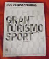 Porsche Magazin Christophorus Nr 355 - 2012 , Gran Turismo Sport , TOP