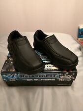 Sketchers Kids Relaxed Fit With Memory Foam Boys Black Shoes BNIB Size 13.5