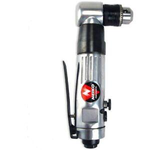 "Close Quarter PRO AIR 3/8"" Right Angle Air Drill Neiko Reversible Drill Tool"