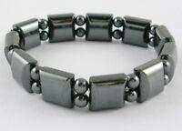Black Magnetic Hematite Bracelet for Arthritic Pain and Blood Pressure (IMB007)