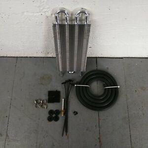 "1978-88 GM G-Body 4-Row 13"" Transmission Oil Trans Fluid Cooler 305 THM350 307"