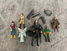 """Used Set of 6 Toys Aragorn Lord of the Rings Figure 6.5"""" (17Cm) and other (11Cm)"""