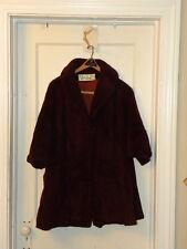 Vintage Lilli Ann swing mohair wool coat 1950's--1960's Tisse a Paris - EUC -R13