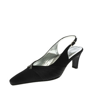 RRP €105 N.LOMBARDO Slingback Court Shoes EU 36.5 UK 3.5 US 6.5 Made in Italy