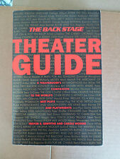 The Back Stage Theater Guide A Theatergoer's Companion Trevor R Griffiths