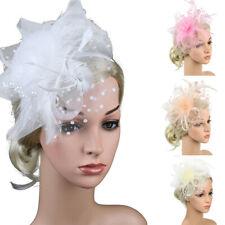 Fascinators Hat for Women Tea Party Headband Derby Wedding Cocktail Hair Clip AU